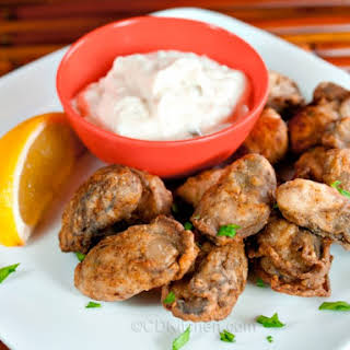 Blackened Oysters.