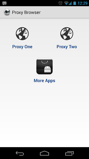 Proxy Browser For Android