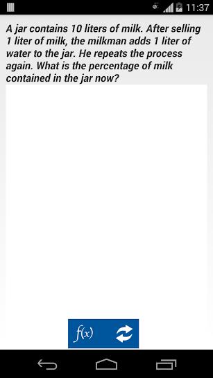 Pocket Aptitude screenshot for Android