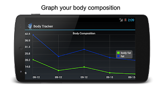 Screenshot of Body Fat Calculator, BMI, BMR