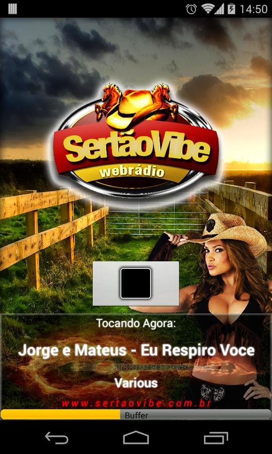 Web Rádio Sertão Vibe - screenshot