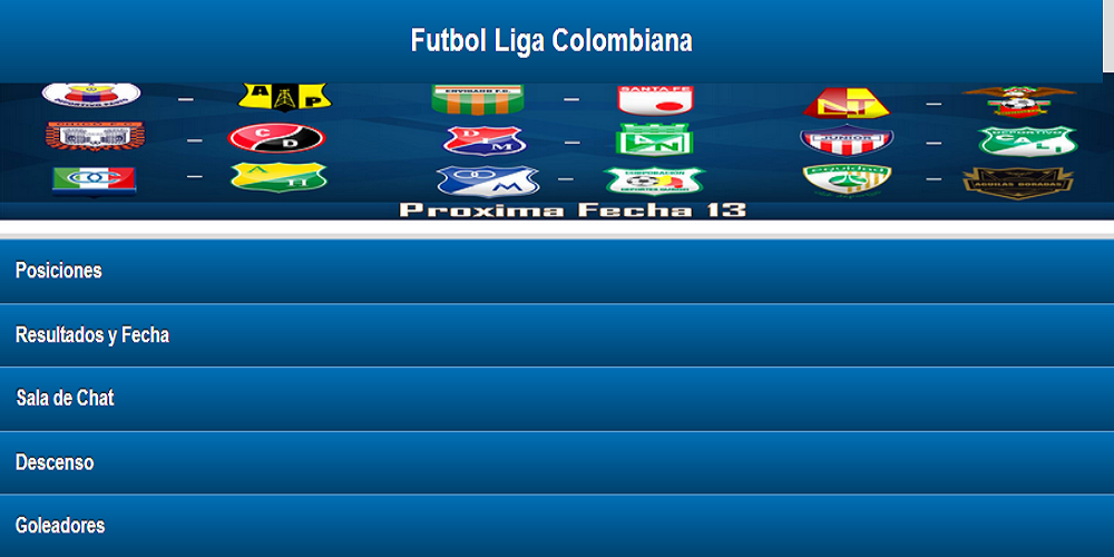 Futbol Colombiano - screenshot
