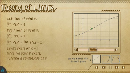 Calculus Math App Lite - screenshot thumbnail