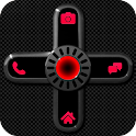 GO Locker NEON RED Theme icon