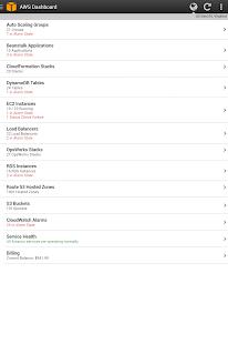 AWS Console - screenshot thumbnail