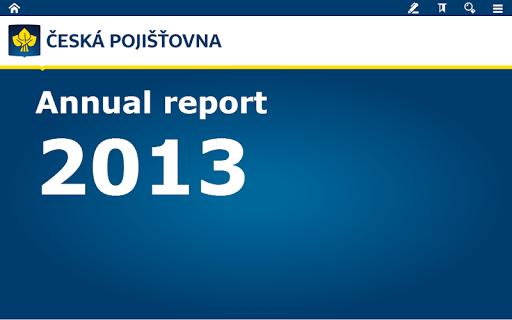 ČP Annual Report 2013