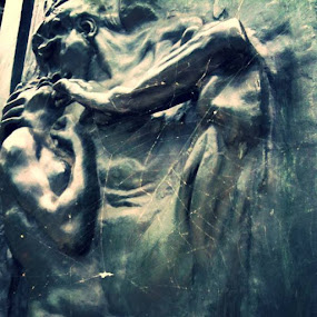 Auguste Rodin- Gates of hell by Artemis Tsakiri - Instagram & Mobile iPhone