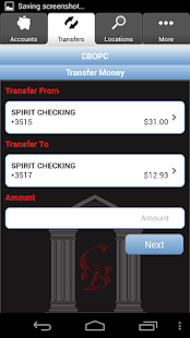 CBOPC Mobile Banking - screenshot thumbnail