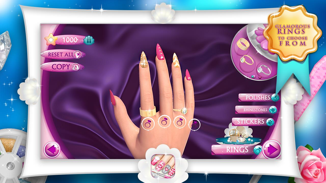 Fashion nails 3d girls game android apps on google play fashion nails 3d girls game screenshot prinsesfo Gallery
