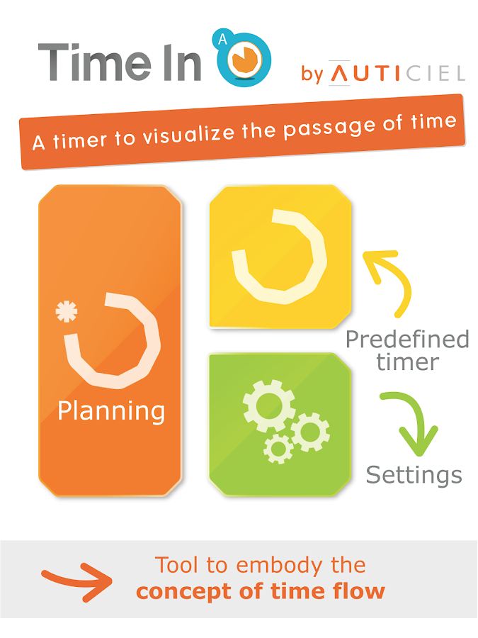 Time in - Smart timers -- AMIKEO APPS- screenshot