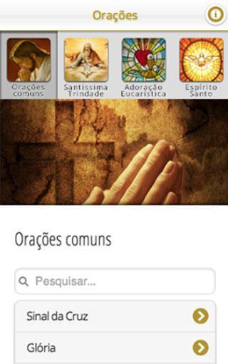 Orações app
