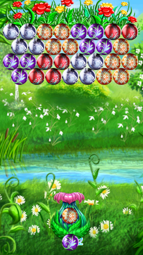 Bubble Shooter Spring Flowers