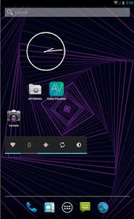 برنامج  Audio Visualizer Pro v1.1 لعرض مؤثرات رائعة اثناء تشغيل الموسيقى