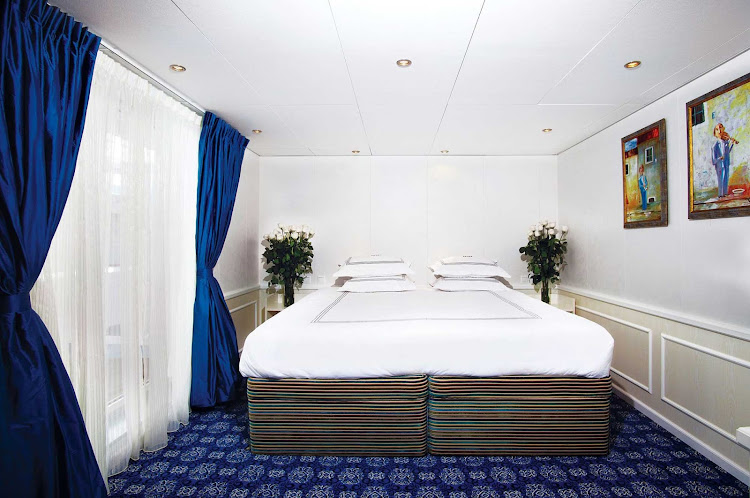 Stay in River Victoria's Presidential Suite as you explore the remote islands and vast lakes of Russia during your Uniworld cruise.