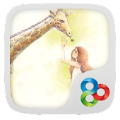 Hello,Giraffe Launcher Theme