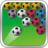 Football Bubble Shooter Game