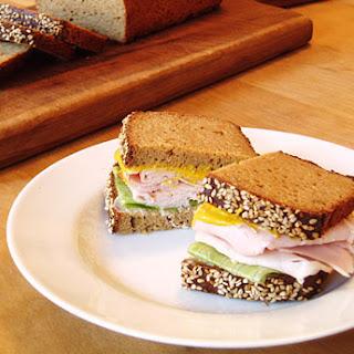 Gluten-Free Sesame Sandwich Bread