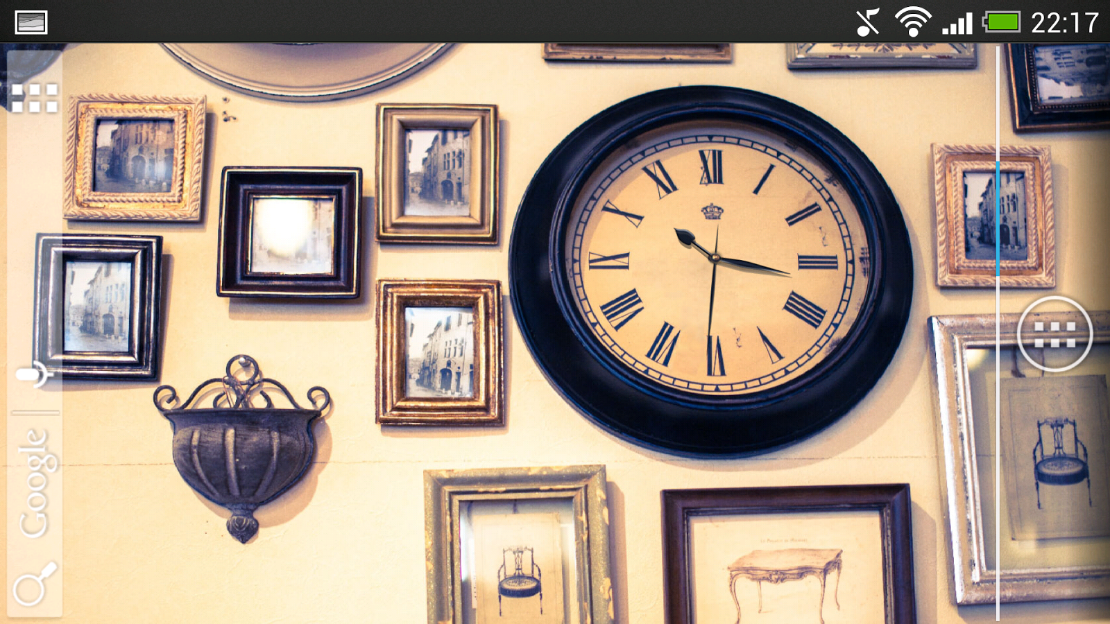Clock Live Wallpaper Free- screenshot