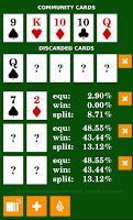 Screenshot of Poker Calculator