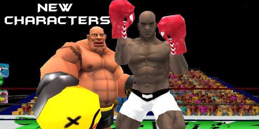 虚拟拳击3D游戏