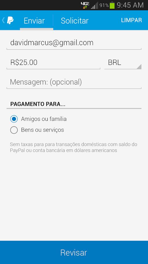 PayPal - screenshot