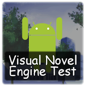 Visual Novel Engine Test