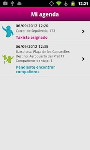 JoinUp Taxi Passenger - screenshot thumbnail