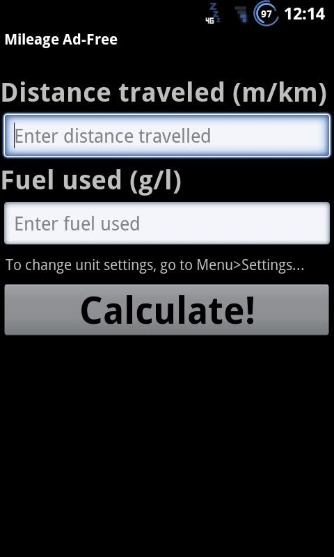 Mileage Calculator-Ad Free - screenshot