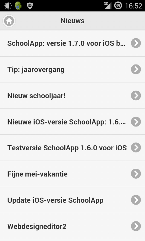 SchoolApp- screenshot
