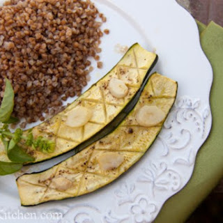 BEST Baked Zucchini with Garlic and Lemon