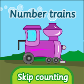 Number trains: skip counting