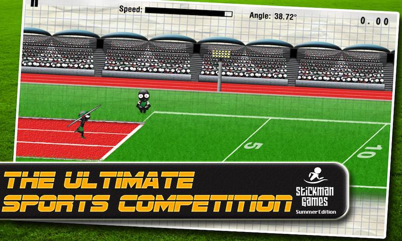 Stickman Games : Summer (Free)- screenshot