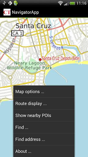 NavigatorApp
