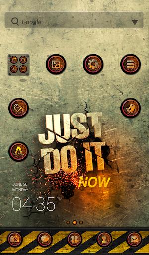 JustDoIt dodol launcher theme
