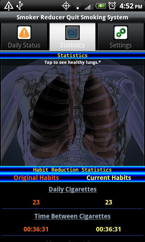 Smoker Reducer Quit Smoking- screenshot