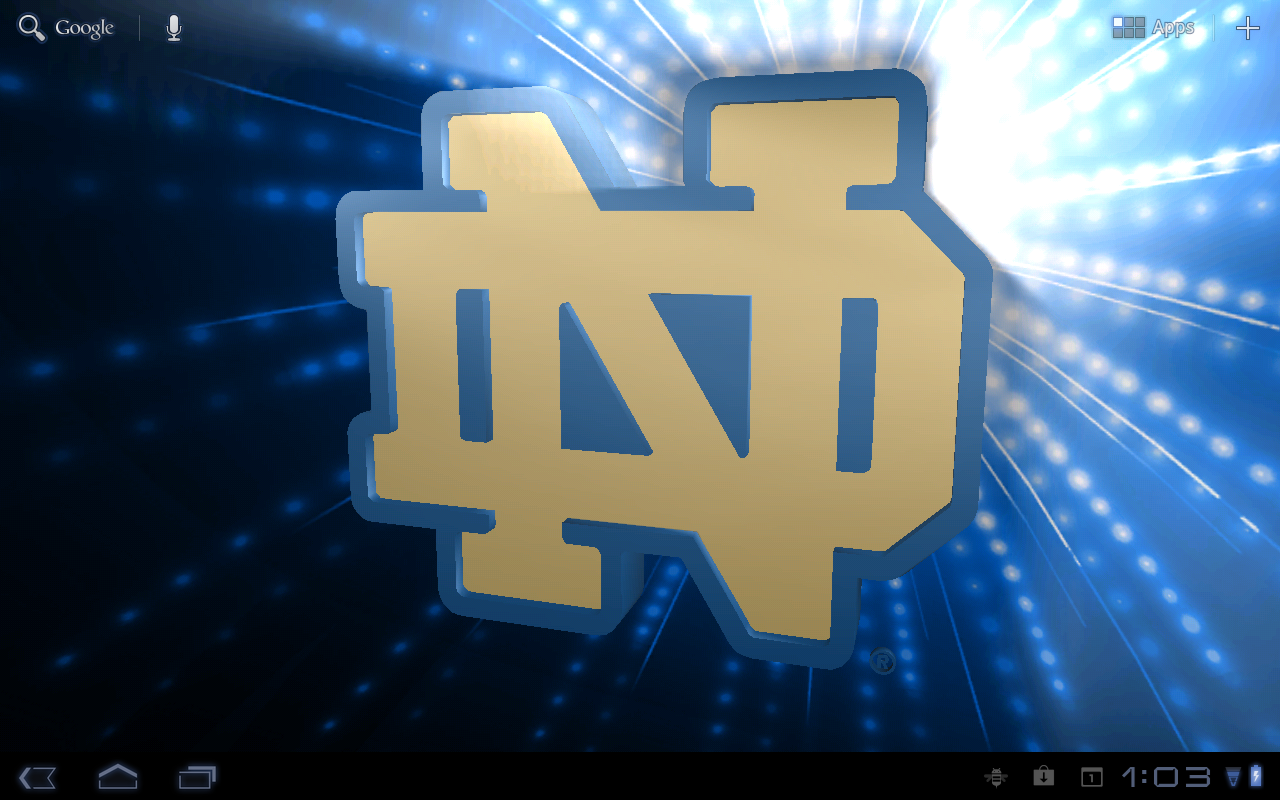 Notre Dame Irish Pix & Tone - screenshot