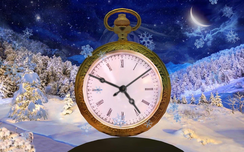 3d clock wallpaper - photo #21