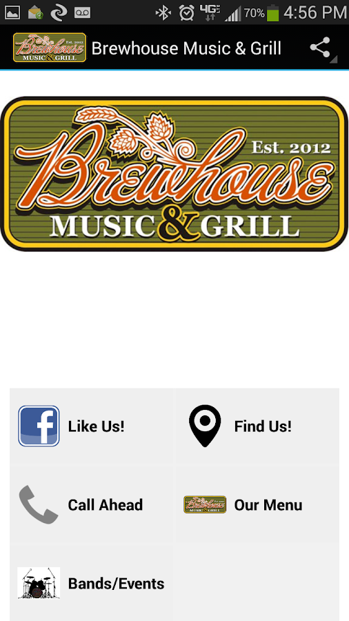 Brewhouse Music & Grill- screenshot