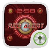 Red Alert GO Locker Theme