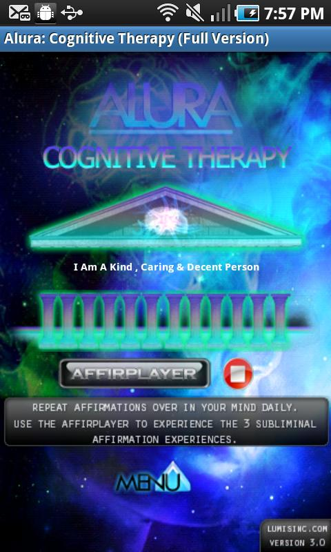 Alura : Cognitive Therapy Full- screenshot