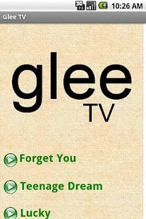 Glee Free- screenshot thumbnail