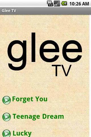 Glee Free- screenshot