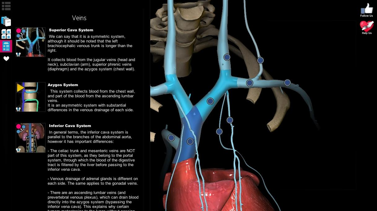 Anatomy learning app