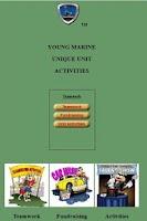 Screenshot of Young Marine Unique Activities