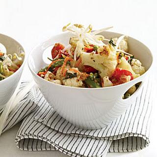 Stir-Fried Vegetables with Lemongrass.