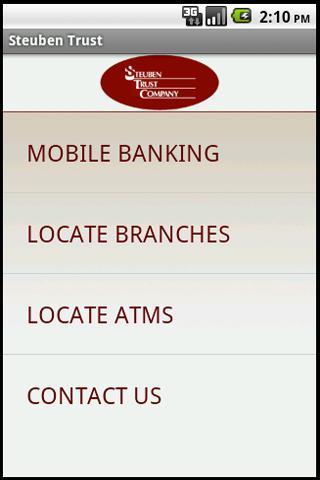 Steuben Trust Mobile Banking - screenshot