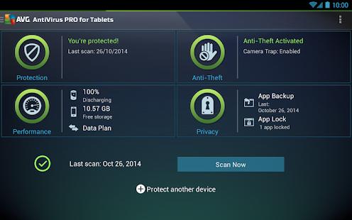Tablet AntiVirus Security PRO - screenshot thumbnail