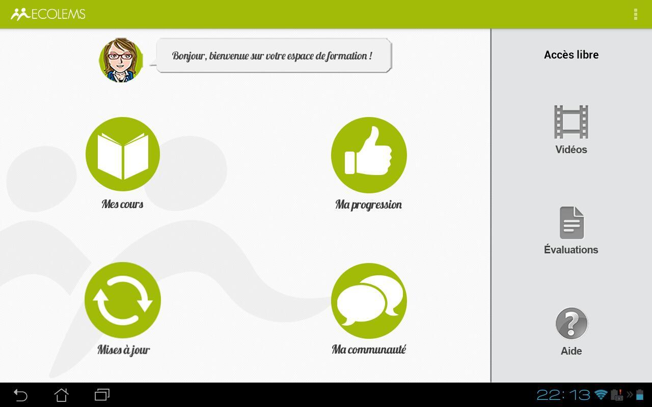 ECOLEMS- screenshot