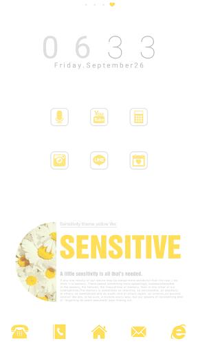 Sensitive dodol launcher theme