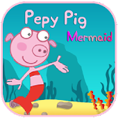 Pepy Pig Mermaid